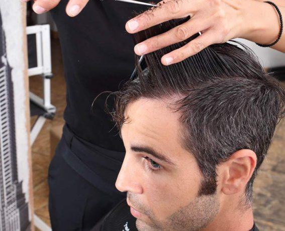 Peeling-Shampoo -Haircut-2